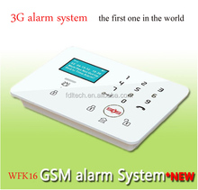 Touch screen keypad Europe country Wireless home intruder alarm panel