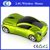 New Fashion Wireless LED Car Branded Mouse With Mini USB Receiver