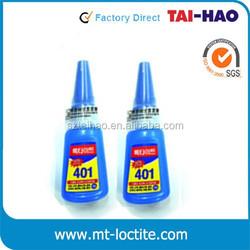 20g Industry High Strength Colorless Transparent Acrylate Adhesive Korean loctit 401 Glue Super Rhinestone Glue