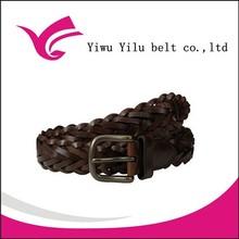 fashion men guoci plait leather belt