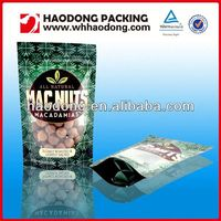 custom China plastic packaging zipper bag for dried fruit