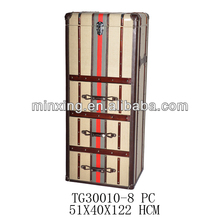 wooden crates wholesale with drawers