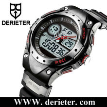 Double Movement Movt Analog Digital Silicone Watch