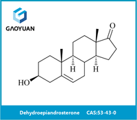 China manufacturer 99% high purity DHEA Dehydroepiandrosterone CAS No. 53-43-0 bulk buy from china