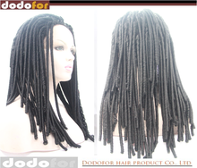 Factory direct lace front synthetic jack sparrow wig