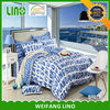 cotton print fabric/baby nursery bedding set/bedspread with elastic