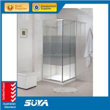 Bathroom equipment frame tempered glass shower cubicles enclosure