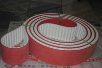 high quality seamless AT10 PU timing belt made in China