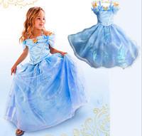 MS50384A girls Cinderella dress,party dress
