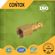 C122 BRASS straight quick female threaded pipe fitting FOR USA market