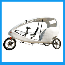 three wheel electric passenger tricycle rickshaw