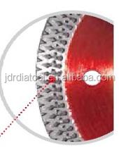 Ultra thin tile diamond cutting blade