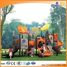 Temáticos floresta pebdl corrediça ao ar livre equipamentos de Playground para venda
