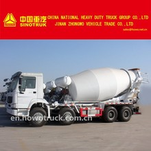 Sinotruk HOWO 8x4 Mixer concrete transport trucks 10m3;12m3 ZZ5317GJBN3268