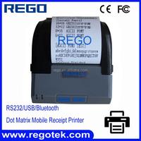 58mm bluetooth wireless mobile receipt dot matrix printer