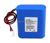 18650 li-ion battery pack 12v 3000mah,high quality CE approved