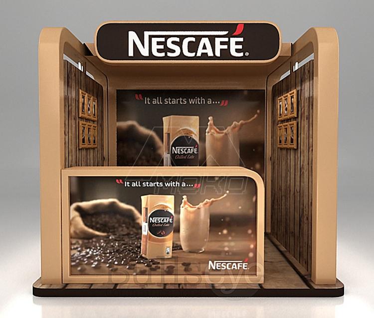 design moderne en bois caf kiosque fabricant alimentaire. Black Bedroom Furniture Sets. Home Design Ideas