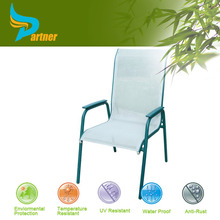 TLH-098 Relaxer Aluminum Frame Beach Lounge Chair With Footrest For Heavy People