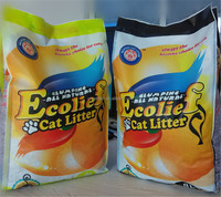 High Quality Bentonite cat litter with Strong odor control