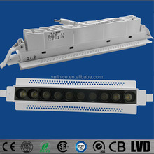 Rectangular trimless recessed led downlight 21W project downlight meeting room / shopping mall/office