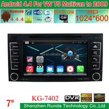 2015 Newest Android Car DVD for VW T5 Multivan to 2009 Android 4.4.4 System DVD GPS Player