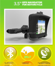 IPX7 Waterproof gps motorcycle google car gps navigation waterproof gps