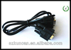 15-Pin VGA Male to S-Video 4-pin+RCA Composite Female Adapter Cable new
