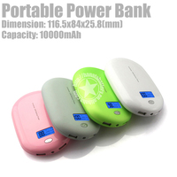 10000mAh Dual USB Output Smart Power Bank for Samsung Galaxy Note 3 Made in China