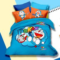 3d cartoon kid child Bedding Set Doraemon kids Bedclothes any Size for girls boys children CD1038
