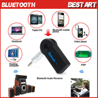 Universal Wireless Bluetooth 3.0 Car Audio Music Receiver Adapter with Mic Handsfree For Phone MP3