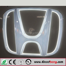 3D Custom Led Chrome Car Logo Lighted Car Emblem