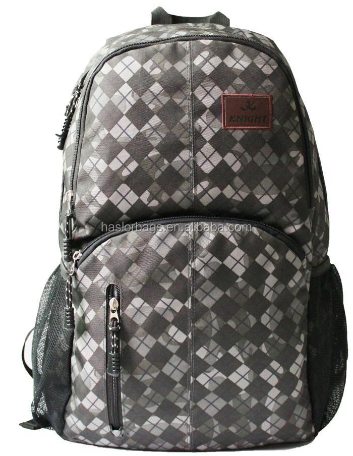 Garçons sac à dos élégant sacs d'école pour les adolescents
