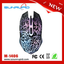 1600 DPI LED Optical USB Wired Gaming Mouse With Ergonomic Design For Pro Gamers