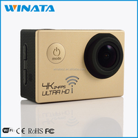 Real 4K Camera 2.0' Screen For Outdoor Sports Waterproof WiFi Mini DV Ultra 4K 1080P Hd Helmet Cam