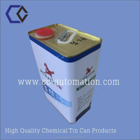 4L aquare Chemical Leakproof Tin/Metal Can/Box