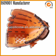 wholesale top quality leather woven moccasin baseball gloves