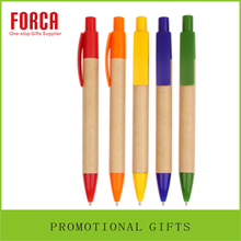 Customized Promotional Eco paper Ball Pen,Fluent Writing Ballpoint Pen