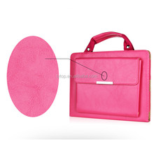 fancy luxury hand bag case for tablet iPad mini 1 2 3, for ipad mini 1 2 3 bag leather case