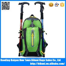 Promotional 40L mountain outdoor nylon waterproof backpack for hiking and camping