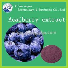 Genuine ingredient no adding no pigment no chemical Synthetic pigment 10:1 Acai berry powder Acai berry P.E.