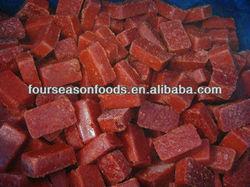 frozen red chilli dices 2015 new crop, bulk frozen red chilli