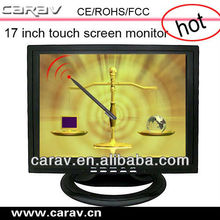 """17"""" elo touch screen 4:3 ratio display USB touch screen monitor"""