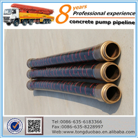 Industrial sany China supplier rubber hose for concrete pump