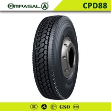 Chinese Manufacture Compasal heavy duty Truck tire 11R22.5,11R24.5,295/75R22.5 tires for sale