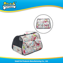 Fashionable Polyester Pet Bag Pet Carrier For Travel