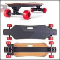Wireless remote control electric powered skateboard