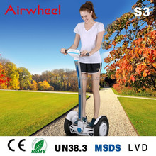 2015 Top Seller Popular Two Wheels Safty Airwheel S3 Electric Self Balancing Mobility Scooter