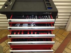 Germany kraft tools set trolley /auto tool trolley/auto repair tools