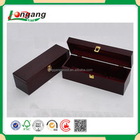 2015 natural wood cheap top sell excellent luxury eco friendly handmade christmas decorative wooden wine box/wooden wine box