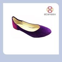 Pointed toe dress shoe flat roupa de ballet infantil